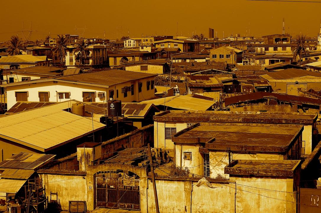 Lagos skyline 2009
